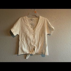 Shirt short sleeves with bottons S